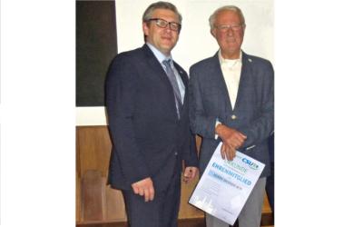 Werner Ach zum Ehrenmitglied ernannt